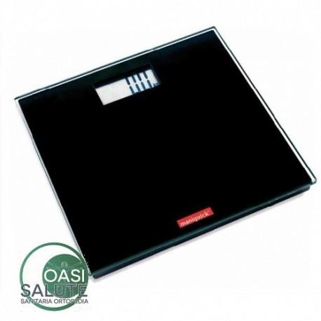 Bilancia Elettronica Digitale in Vetro Nero con maxi display