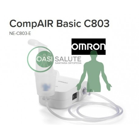 AEROSOL Omron Comp Air Basic ultra compatto