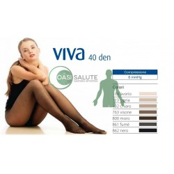 COLLANT PREVENTIVI RIPOSANTI 40 DENARI 6 mmHg Cizeta Medicali