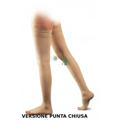 AUTOREGGENTI FINE COTONE PUNTA CHIUSA CCL2 23-32 mmHg GLORIA MED