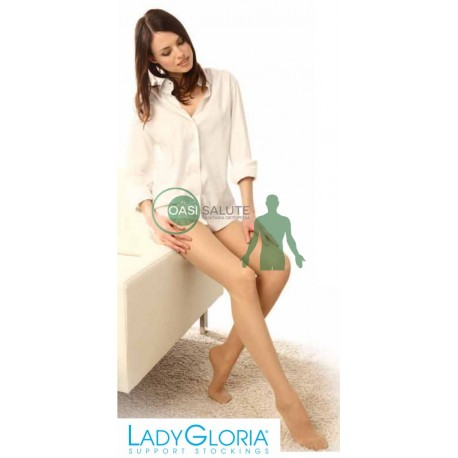 COLLANT LADY GLORIA 12 mmHg PUNTA CHIUSA MAGLIA A RETE