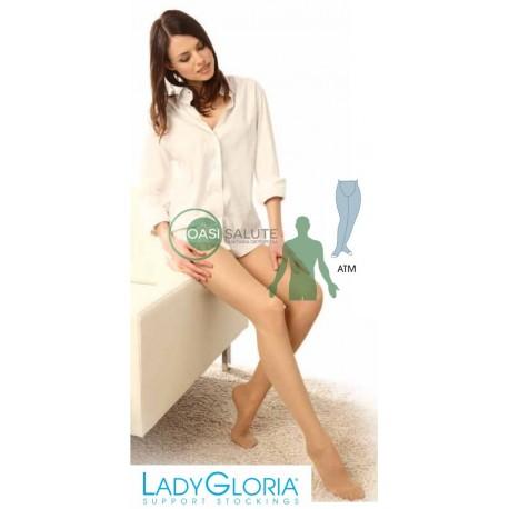 COLLANT MATERNITA' LADY GLORIA 12 mmHg PUNTA CHIUSA MAGLIA A RETE
