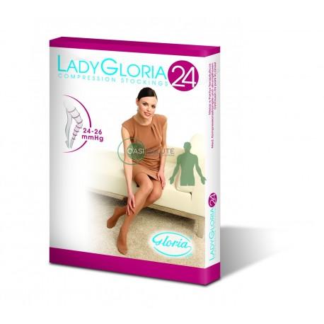 COLLANT LADY GLORIA 24 mmHg PUNTA CHIUSA MAGLIA A RETE