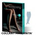 COLLANT 70 Denari MATERNITA' MAGLIA A RETE 12-15 mmHg MODA SANA