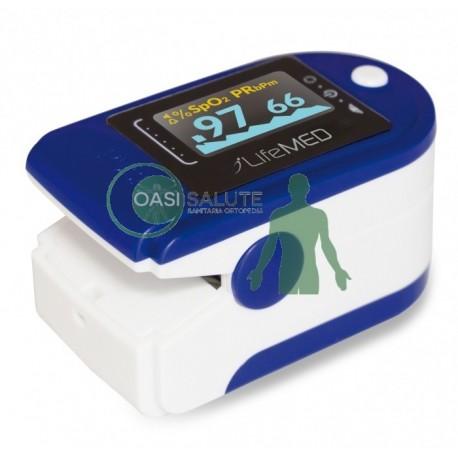 Pulsossimetro portatile da dito con indice di perfusione cod. SAT-200PI