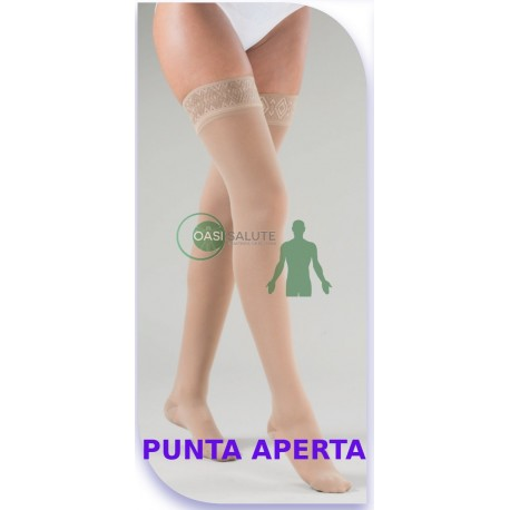 Autoreggenti VARISAN ETHERE' PUNTA APERTA K1 10-15 mmHg compressivi medicali