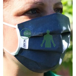 Mascherina protettiva filtrante lavabile e riutilizzabile Cizeta Medicali (confezione da 2 pezzi)