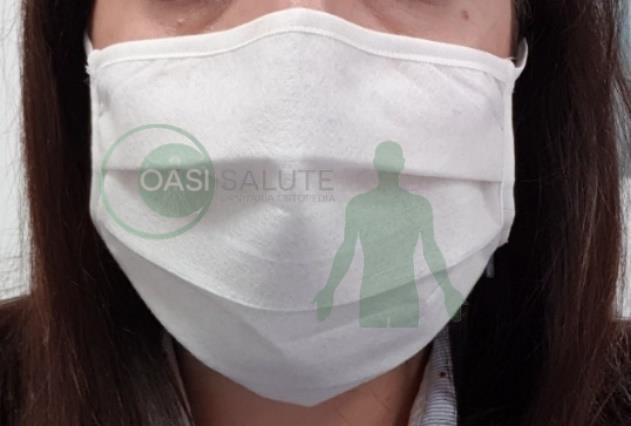 Mascherina filtrante protettiva