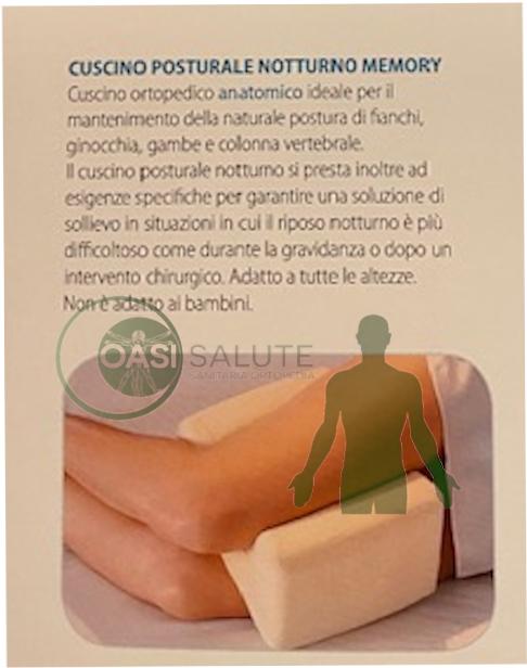 cuscino posturale notturno informazioni