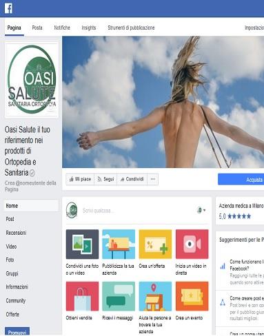 Oasisalute.com è anche su Facebook