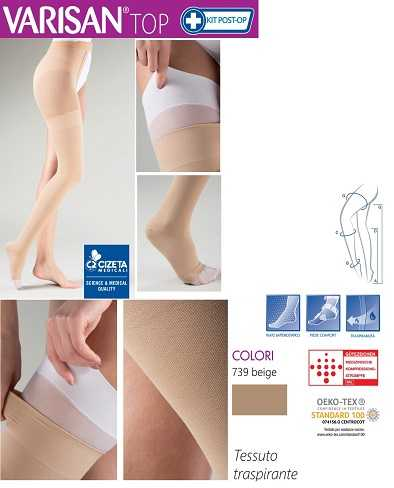 Monocollant Post Operatorio VARISAN TOP di CIzeta Medicali Spa