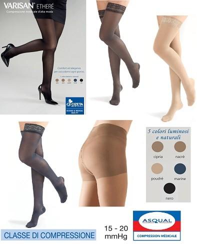 VARISAN ETHERE' Calze a compressione graduata alla moda 15-20 mmHg